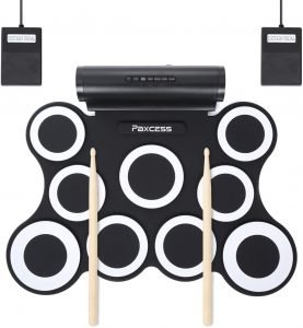 Paxcess 9 Pads Electronic Drum Set