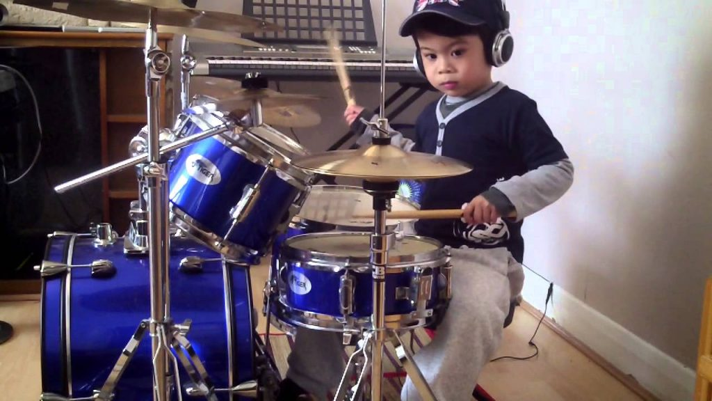 How To Play Drums Kid Playing