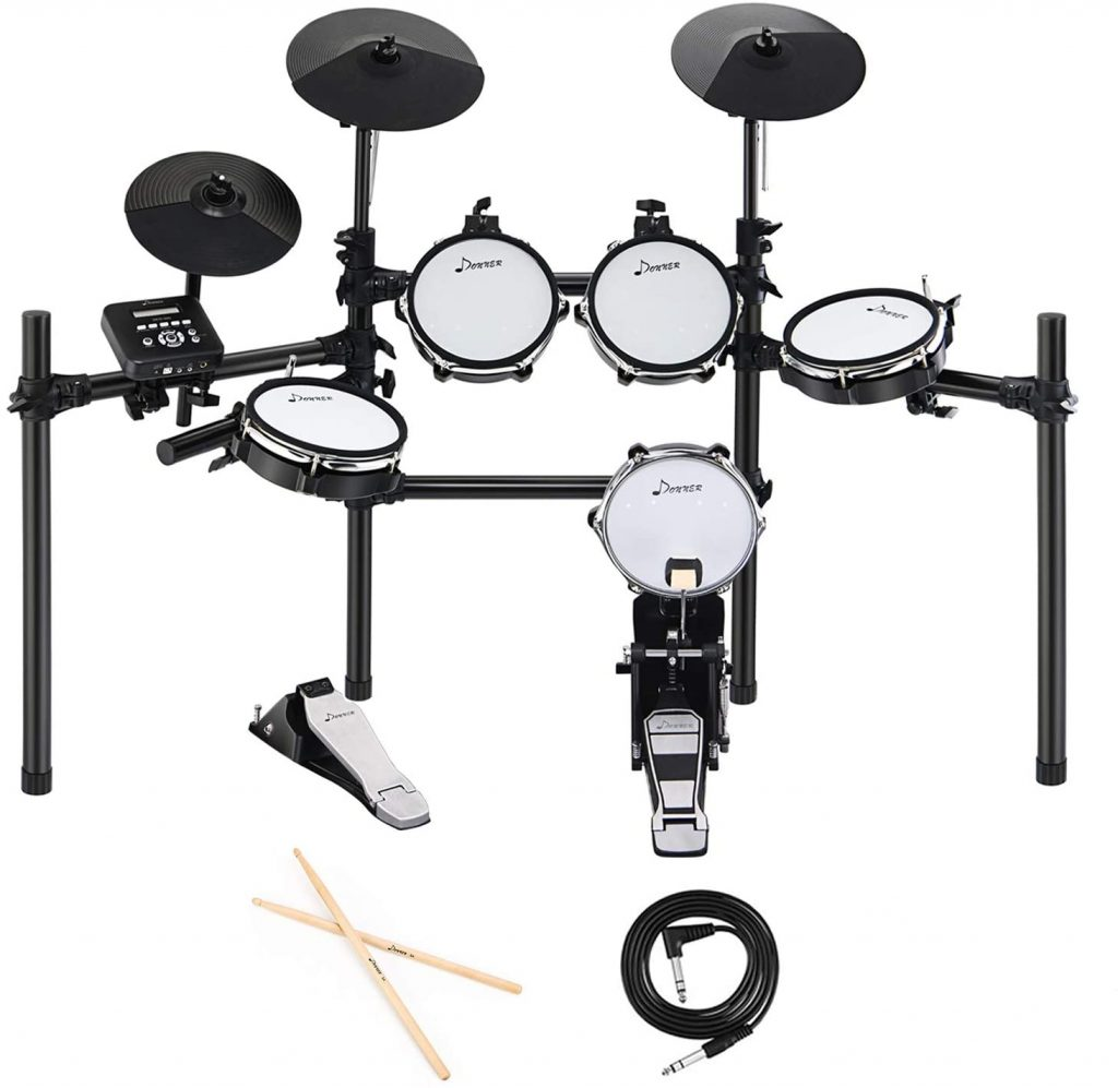 Donner Ded 200 Electric Drum Set Kit Electronic