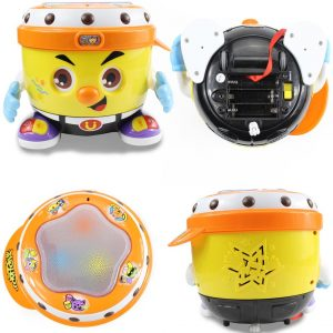 Fisca Baby Musical Drum Toy Set