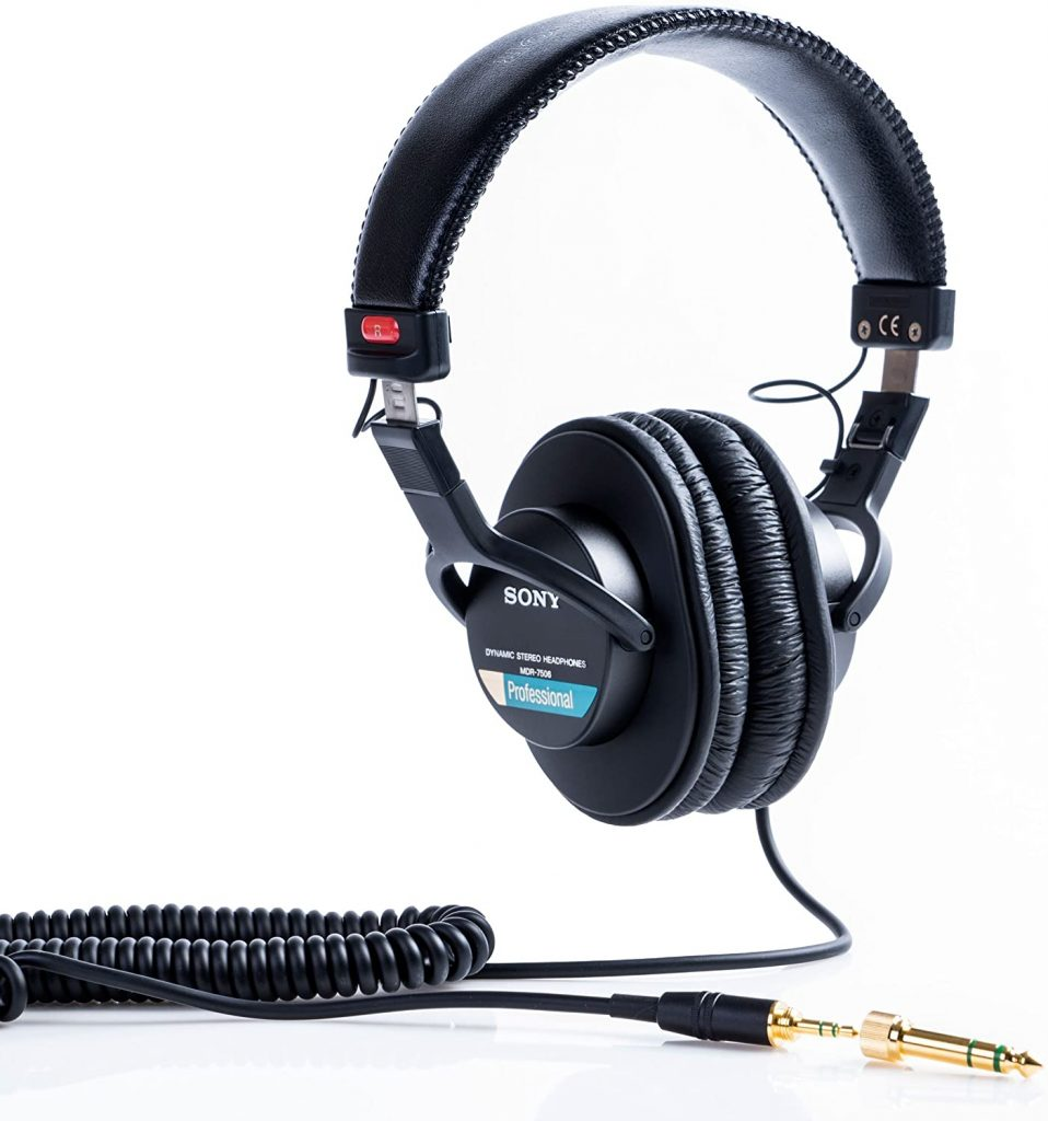 Sony Mdr7506 Professional Large Headphone