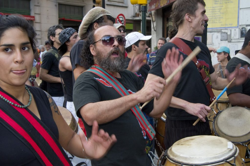 Drumming Protest 1