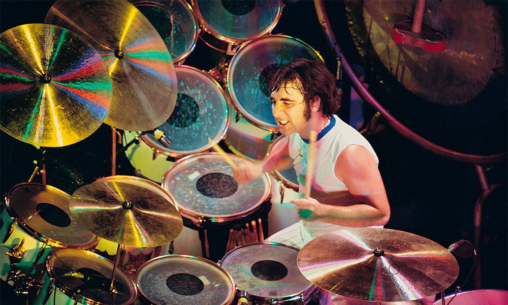 Keith Moon Performing