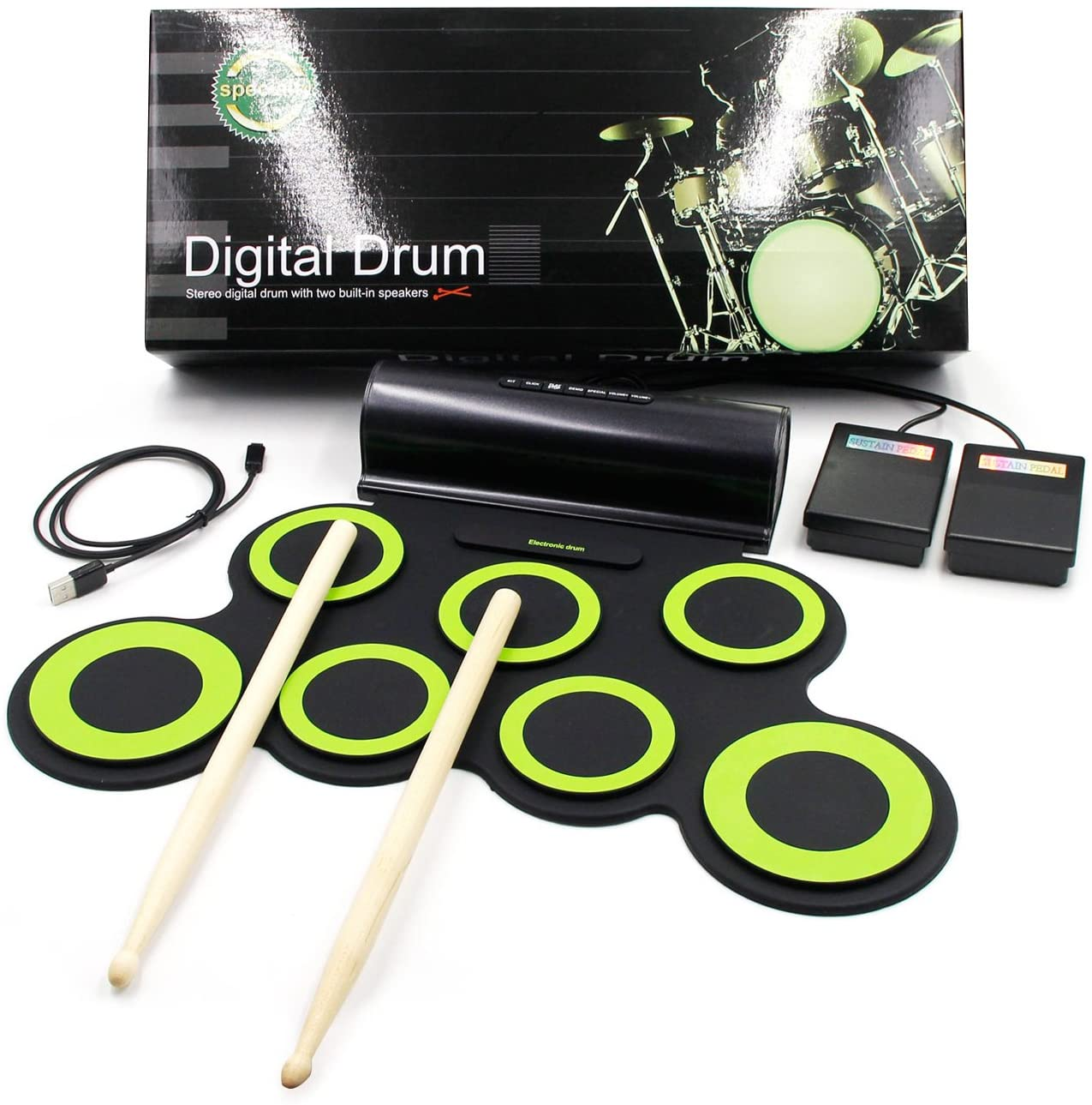 Paxcess Electrical Roll Up Drum Set