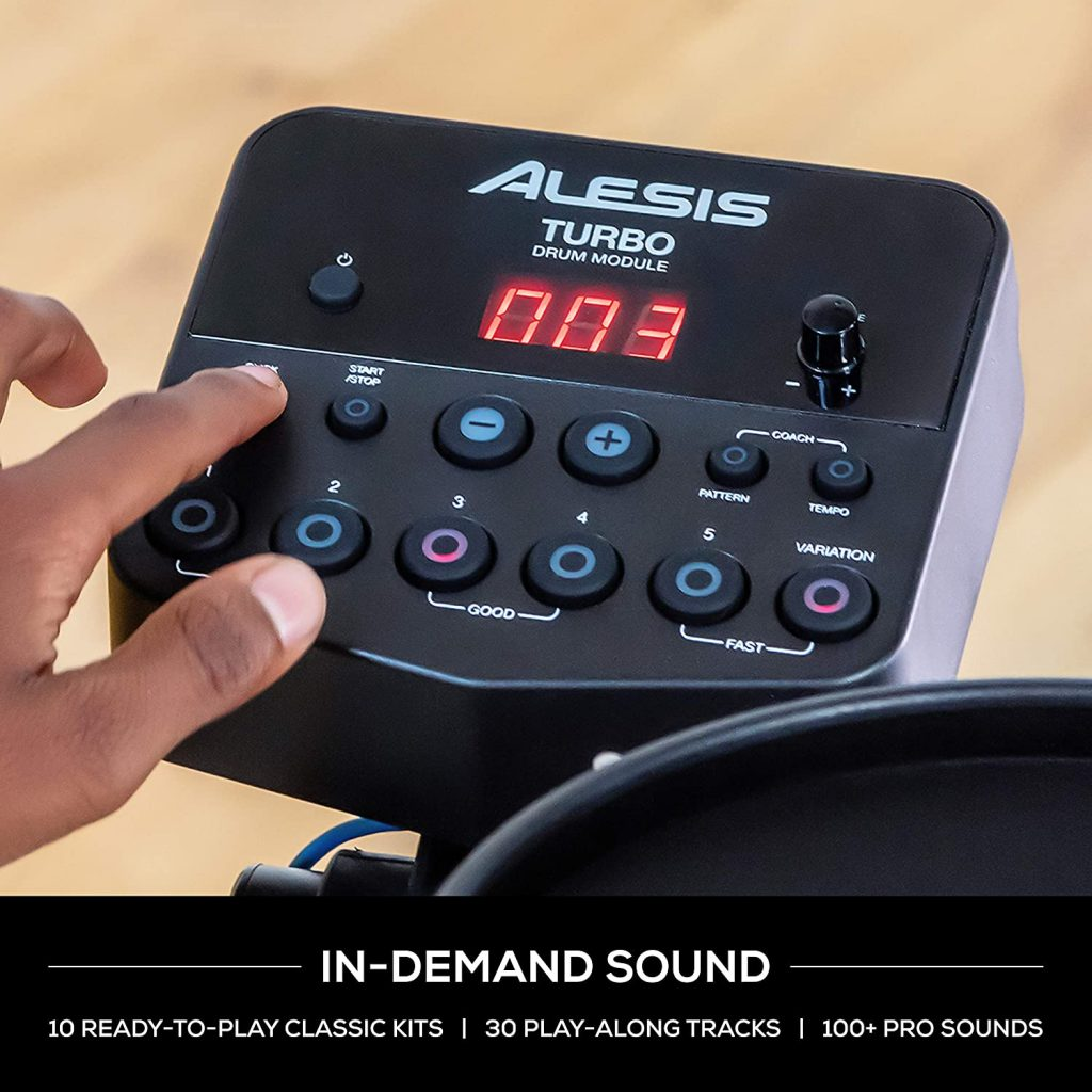 Alesis Turbo Mesh Kit In Demand Sound