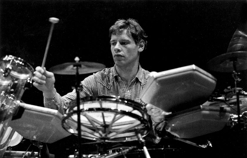 Bill Bruford Druming