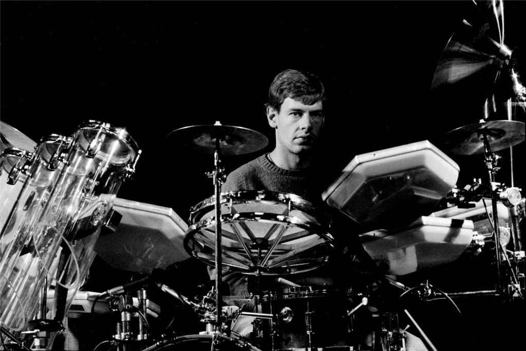Bill Bruford Drummer