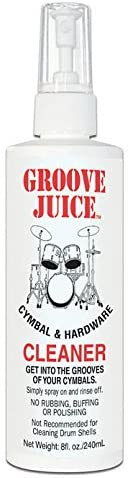 Groove Juice Percussion Cleaning