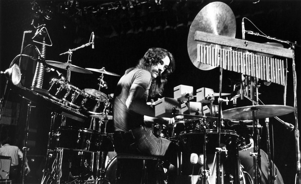 Neil Peart Drumming