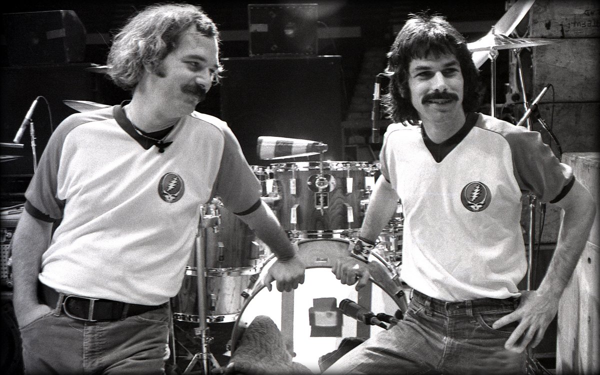 Mickey Hart And Bill Kreutzmann Double-drummers | ZerotoDrum