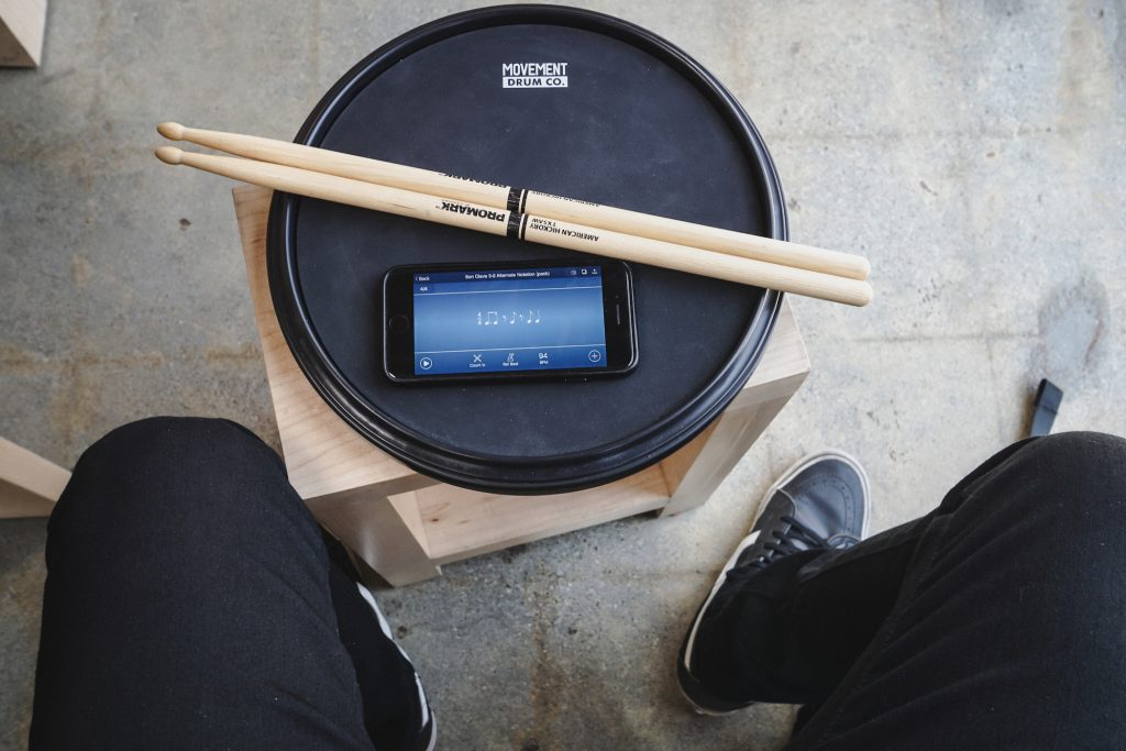 The Playing Surface For Drum