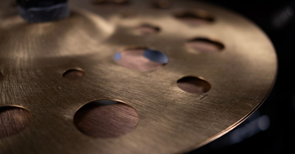 Drum Cymbals With Holes