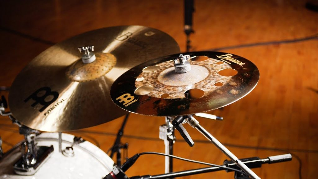 Drumming Cymbal With Holes