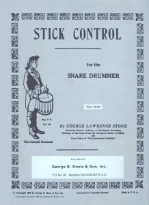 Stick Control For Snare Drummers 1