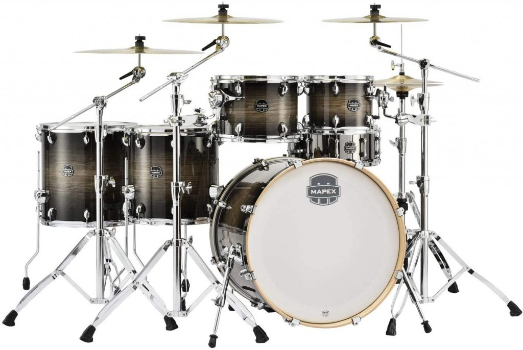 Mapex Armory Series 6 Piece Studioease Shell Pack Black Dawn