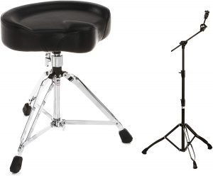 Mapex Armory Series Boom Cymbal Stand Black Plated Dw 5000 Series Drum Throne
