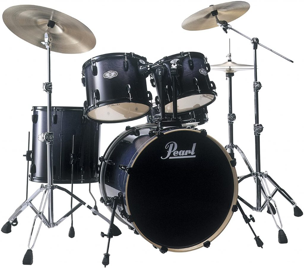 Pearl Vision Birch Vbx925s B235 Drum Kit Concord Fade Cymbals Not Included