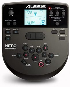 Alesis Nitro Drum Module With Cable Snake Harness And Power Adapter