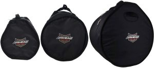 ahead armor 12x8 and 14x14 and 18x14 drum bag case 3 pack bundle