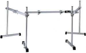 pearl icon 3 sided drum rack – straight