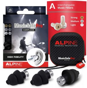 alpine music safe pro hearing protection system
