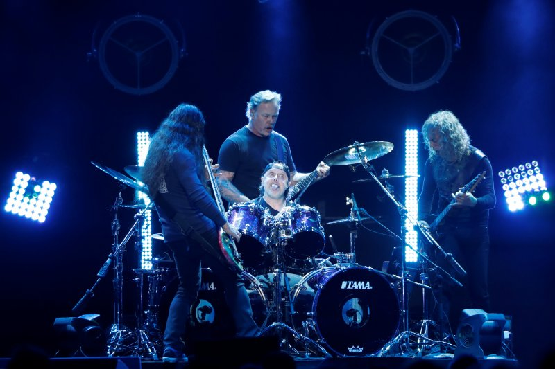 lars ulrich with metallica