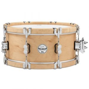 pdp 7x14 limited edition classic wood hoop snare drum with claw hooks