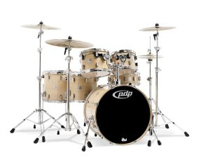 pdp concept maple 6 piece drum shell pack natural lacquer