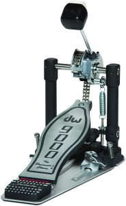 drum workshop, inc. dwcp9000 single bass pedal with bag