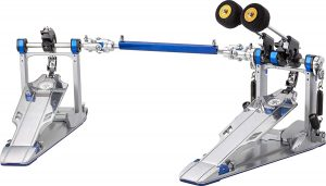 yamaha double bass drum pedal chain drive with case, dfp 9c