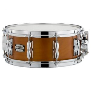 yamaha recording custom snare drum 5.5 inch x 14 inch real wood 1