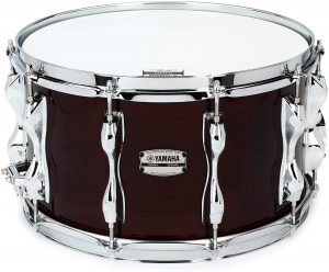 yamaha recording custom snare drum 8 inches x 14 inches classic walnut
