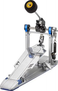 yamaha single bass drum pedal chain drive with case, fp 9c